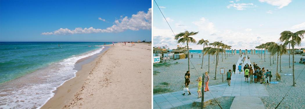 Дикие пляжи черного моря